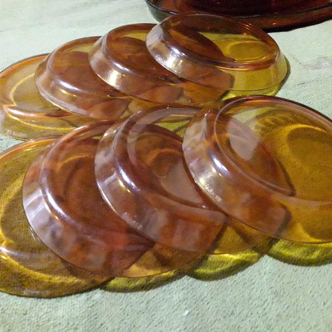 Jual 8pc Piring kacang Duralex France diameter 14cm