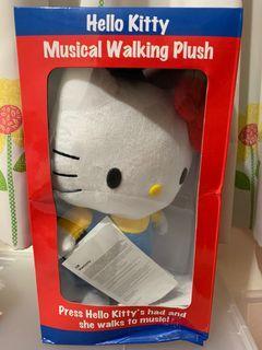 Kitty 走跳音樂玩具
