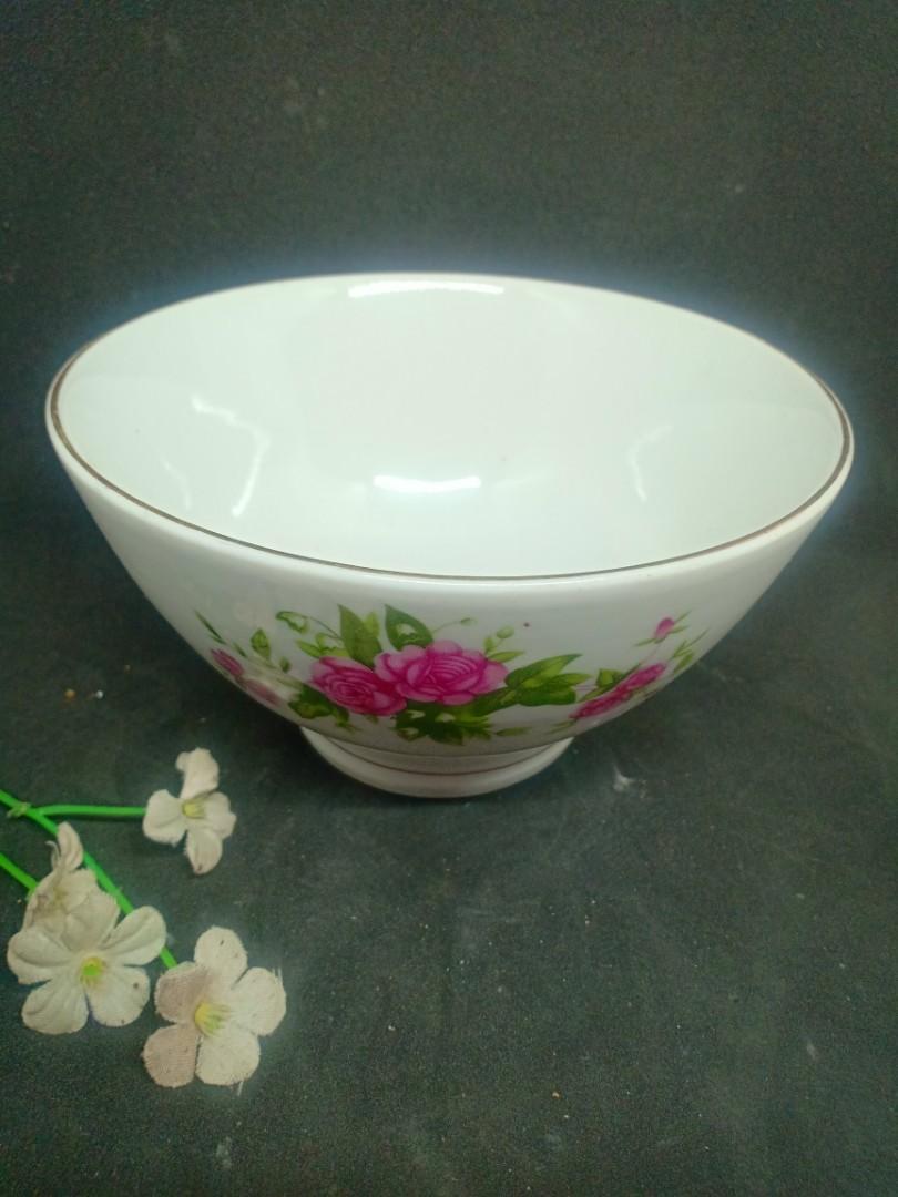 Mangkok Bunga Keramik