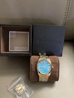 MK 天空藍精品手錶