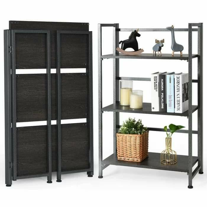 NEW Folding Bookshelf