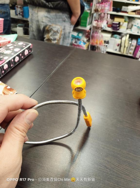 測OK-USB小燈 可彎曲