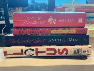 Preloved books (Asian author bestsellers)
