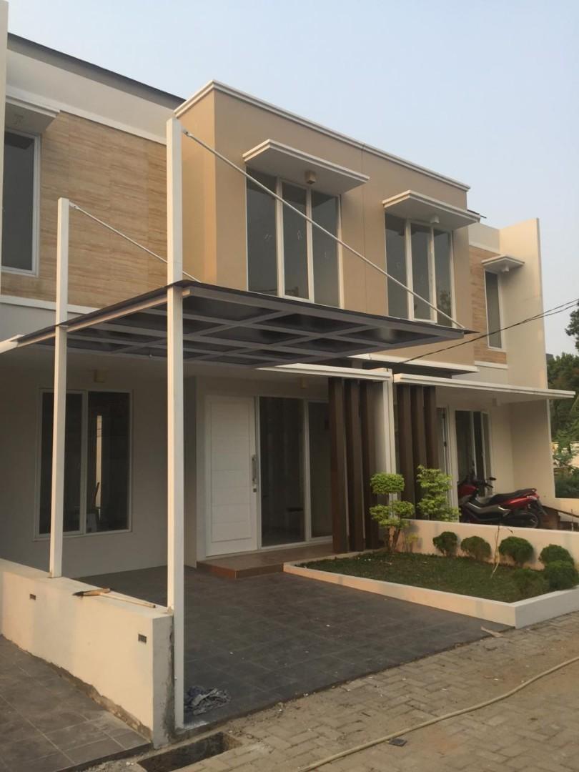Rumah Baru Depan Tol Jatiasih Bekasi