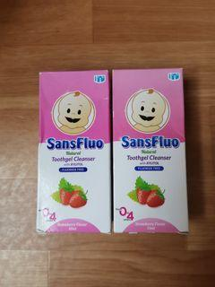 Sansfluo Natural Toothgel Cleanser