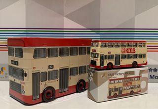 Tiny 55 九巴 KMB 利蘭勝利二型 雞車 初版105 巴士模型車仔 連鐵罐