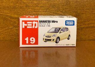 日版 TOMICA 19 DAIHATSU Mira HK$30