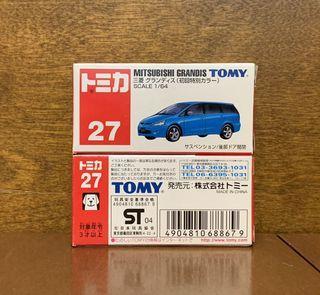 TOMICA 藍字 27 MITSUBISHI Grandis 每架 HK$70