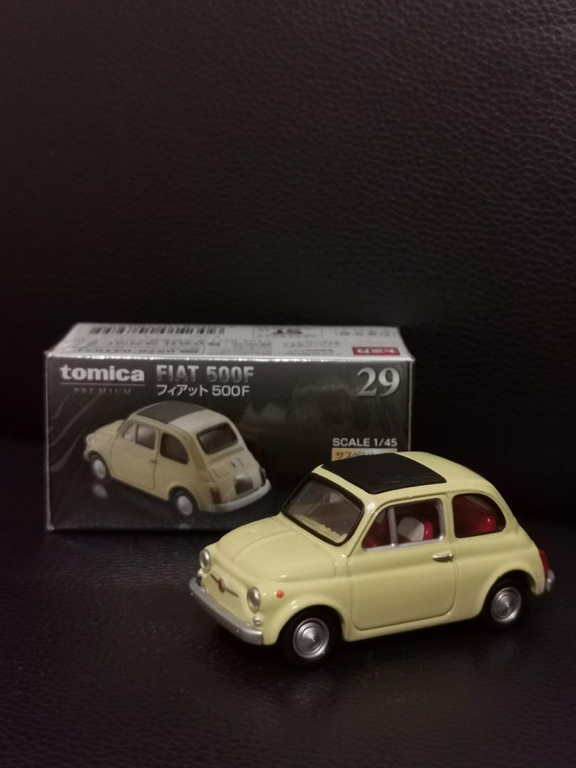 Tomica黑盒 Fiat 500F模型車(全新未拆封)