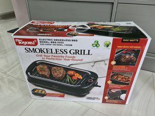Toyomi Electric Smokeless BBQ Grill.
