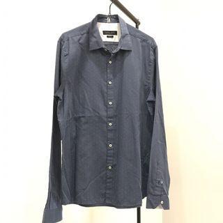 Zara man navy shirt