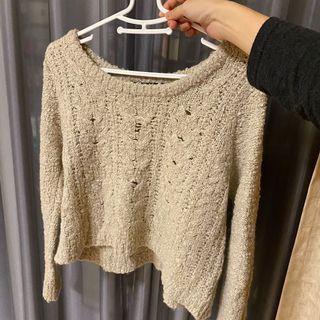 日牌短板針織毛衣