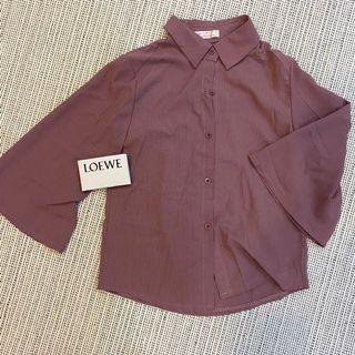 全新▪️襯衫 七分袖