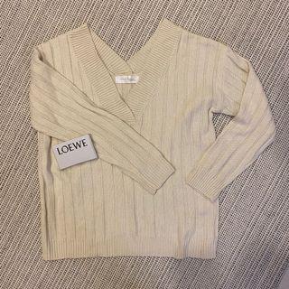 全新▪️毛衣 露肩 粗坑條 cardigan
