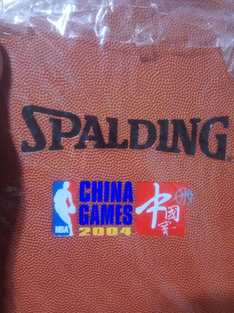 絕版收藏 Spalding NBa中國賽 斯伯汀 籃球筆記本