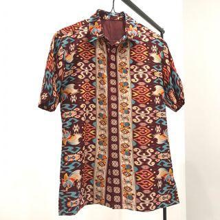 Batik maroon kupang