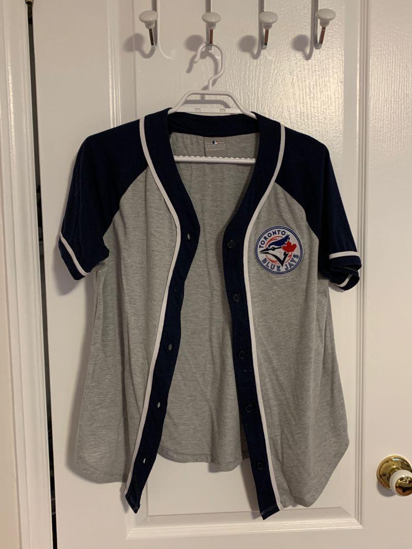 Blue jays cotton baseball jersey