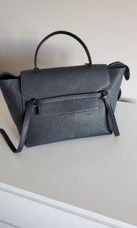 Celine belt bag mini black color