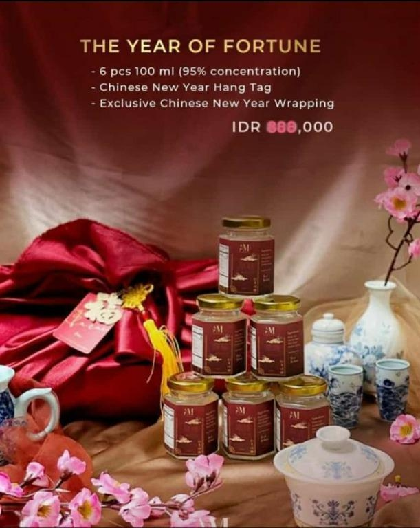 Chinese new year exclusive gift birdnest(burung walet)