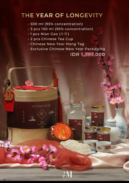 Chinese new year exclusive gift birdnest