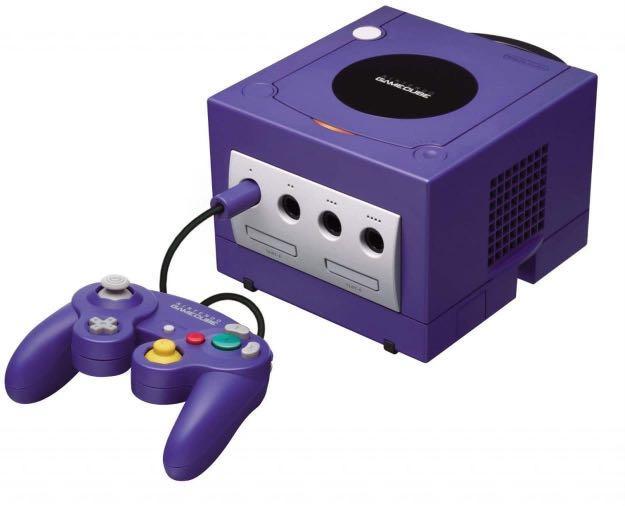 GameCube 主機+3支搖桿