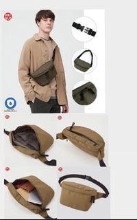 (JASTIP JAPAN) Weist Bag Uniqlo