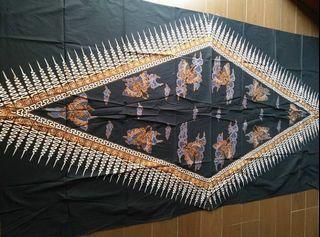 Iwan Tirta Kain batik tulis parang rembulan kupu