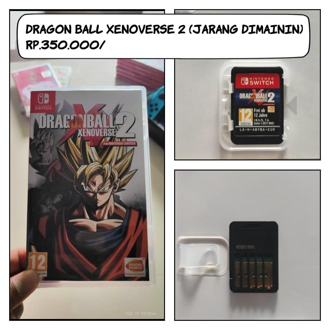 kaset nitendo swich - dragon ball xenoverse 2
