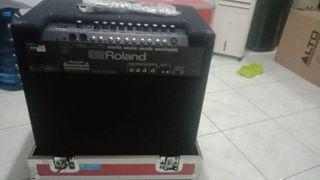 Speaker Amplyfier  Roland baru TDK jadi di pakai Krn TDK cocok
