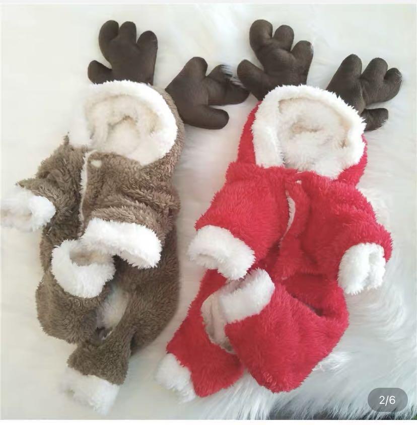 聖誕麋鹿裝L(紅)