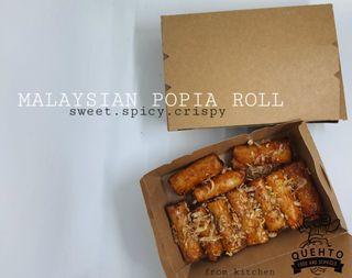 Malaysian popia roll