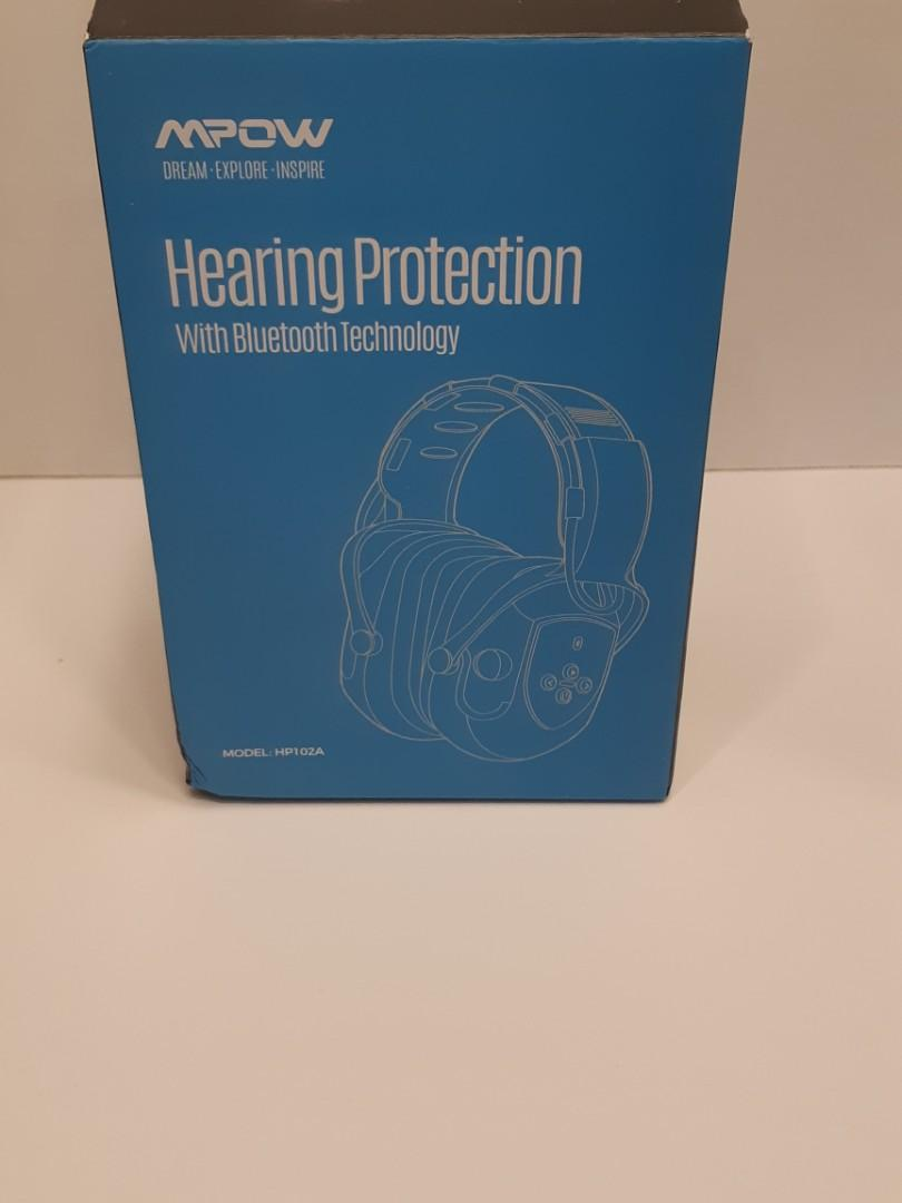 MPOW Safety Headphones Bluetooth Enabled