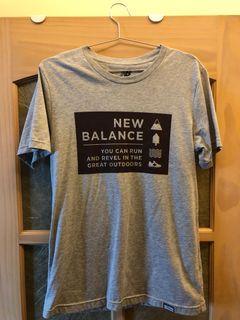 New Balence 灰 短袖上衣