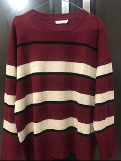 Padini Sweater crewneck rajut knit sweatshirt