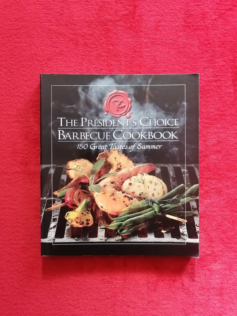 Presidents Choice BBQ Cookbook