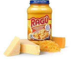 Ragu cheese, tomato