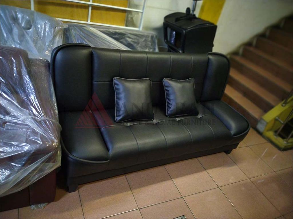 Sofa bed Minimalis Murah Nokia (Sofabed Kursi Tamu) Tempat Duduk Santai Elegan