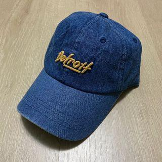 TNC 牛仔老帽 韓國 底特律 電繡 穿搭 棒球帽 全新 穿搭