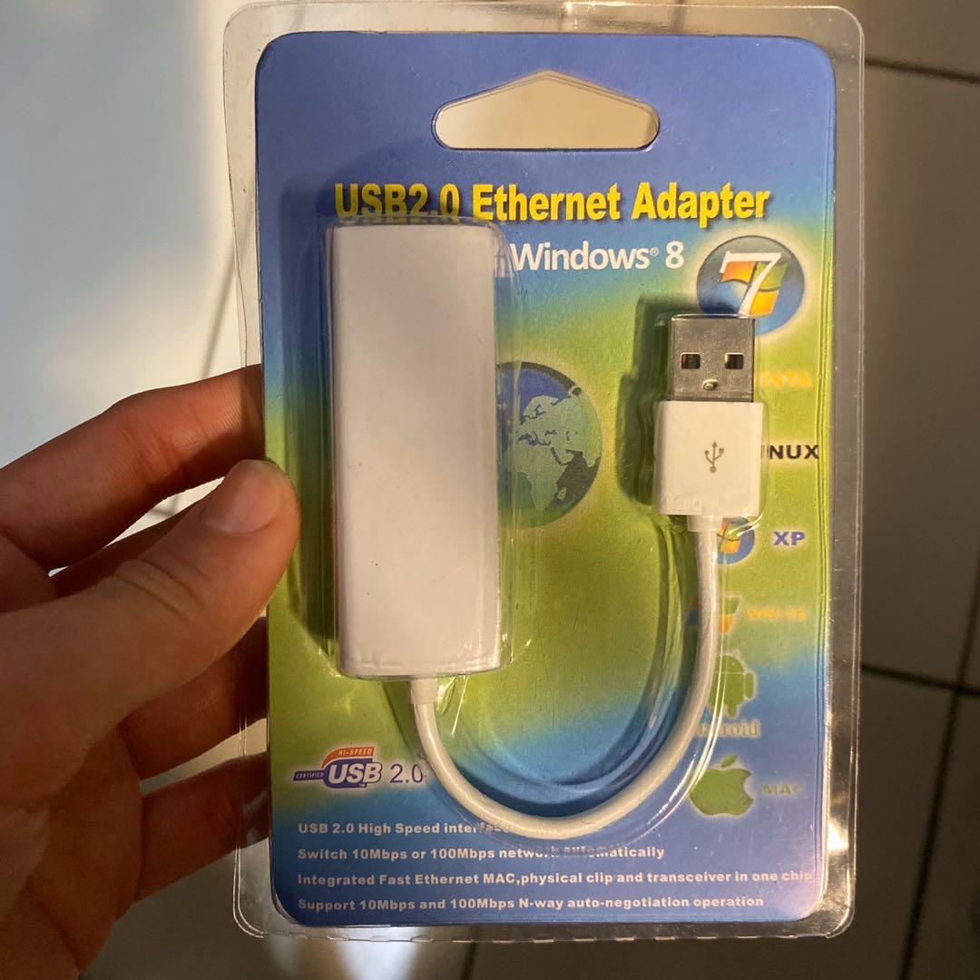 USB轉網路插頭連接線