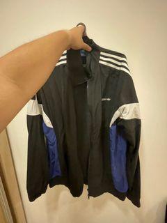 Vintage Adidas Trefoil Windbreaker (L)