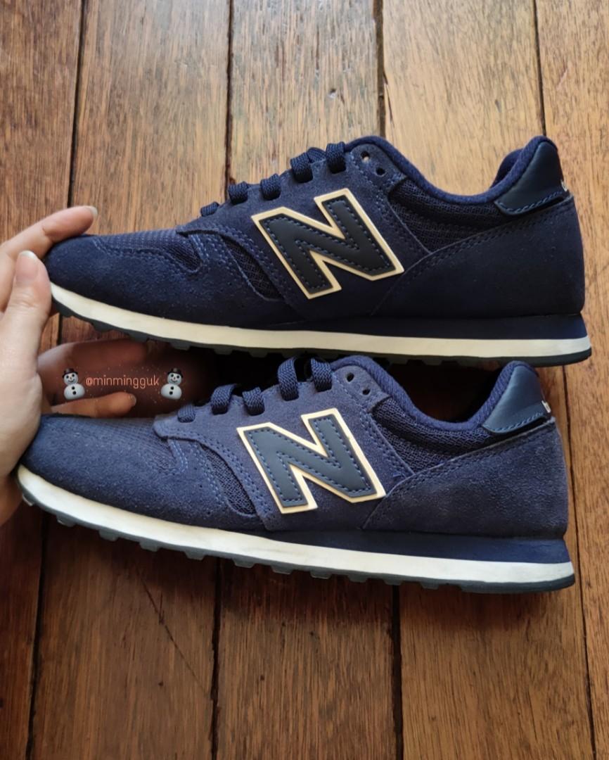 Women's New Balance 373 blue, Men's Fashion, Footwear, Sneakers on ...