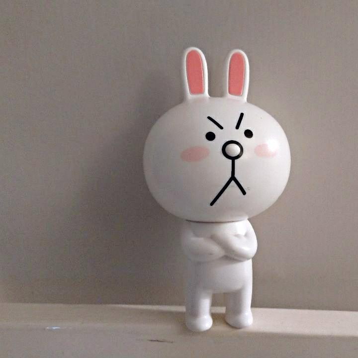 兔兔伸縮筆(高10cm)