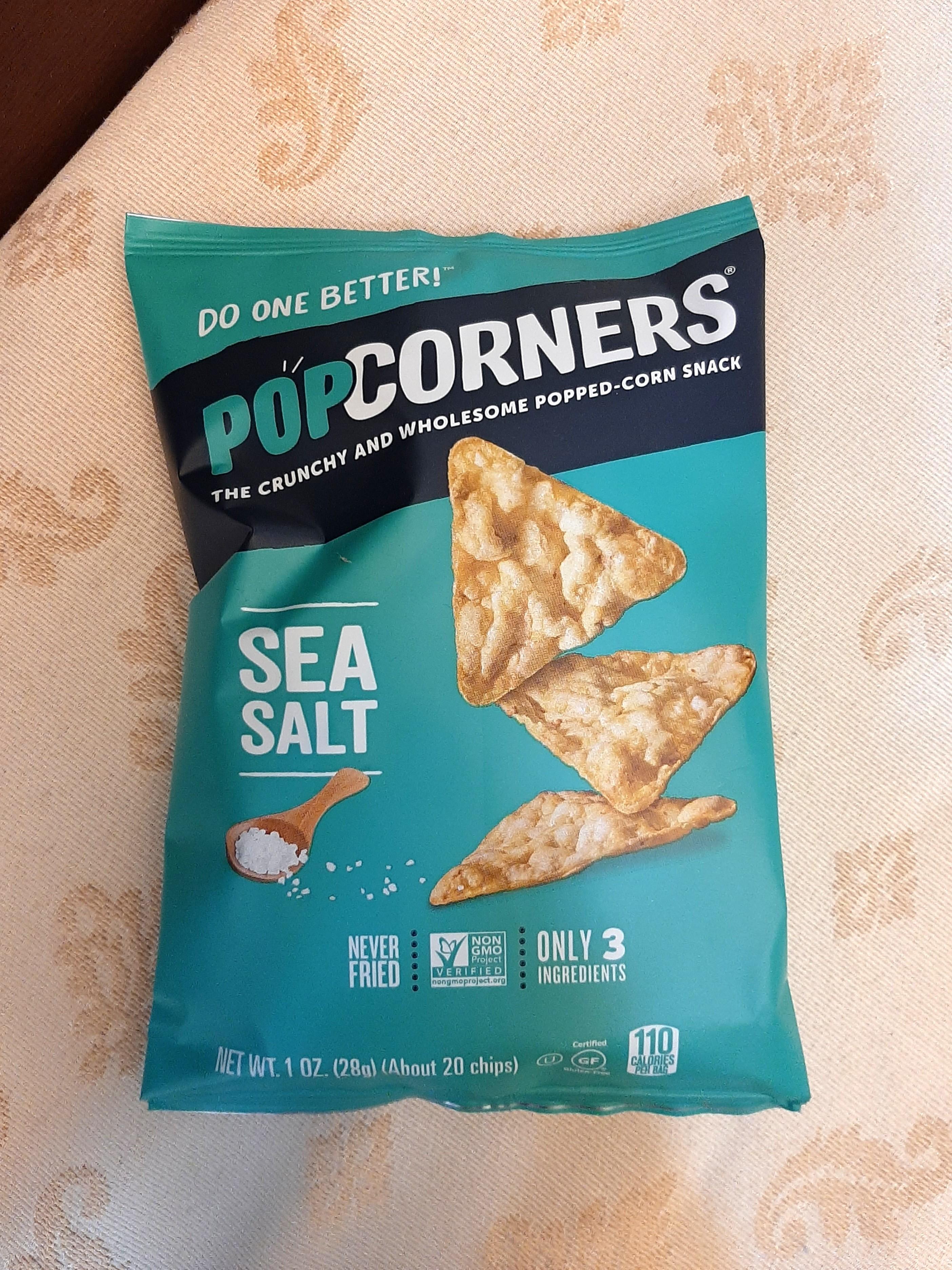 爆米花脆片-海鹽口味