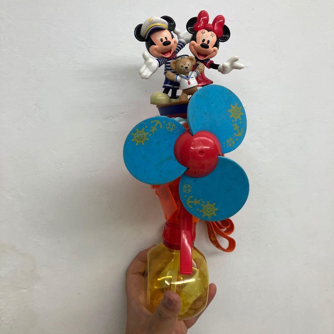 迪士尼米奇米妮達菲夏季水風扇