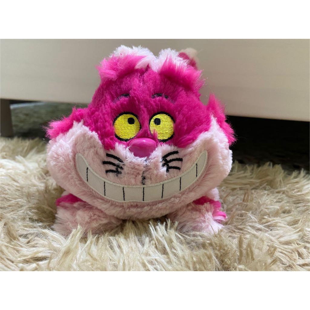 妙妙貓 怪貓 Cheshire Cat 柴郡貓 趴姿翹臀 絨毛 玩偶 娃娃 禮物 愛麗絲夢遊仙境 迪士尼正版