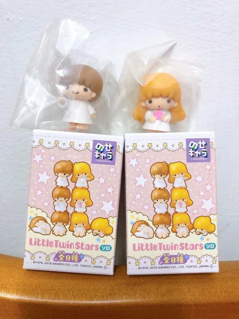 全新日本正版 三麗鷗 little twin stars 雙子星 kiki lala 疊疊樂公仔 擺飾 扭蛋 轉蛋 盒玩