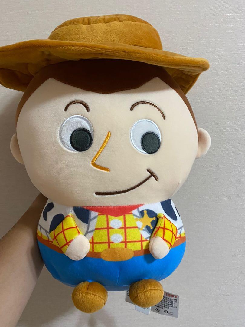 「全新 正版」玩具總動員 胡迪軟QQ系列玩偶 吊牌未拆  匯款價格可議