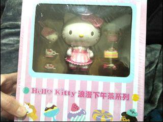 全新正版三麗鷗 Kitty浪漫下午茶系列