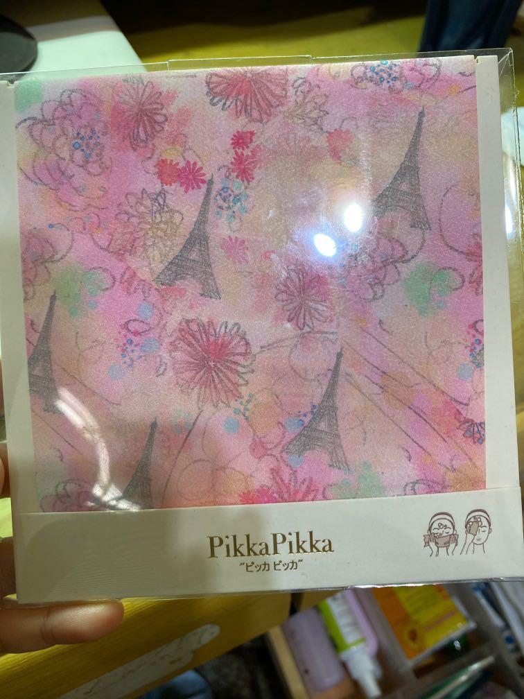 日本製 洗臉布pikka
