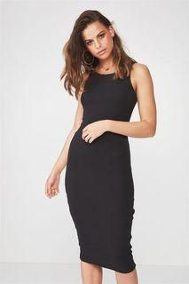 bodycon sleeveless dress
